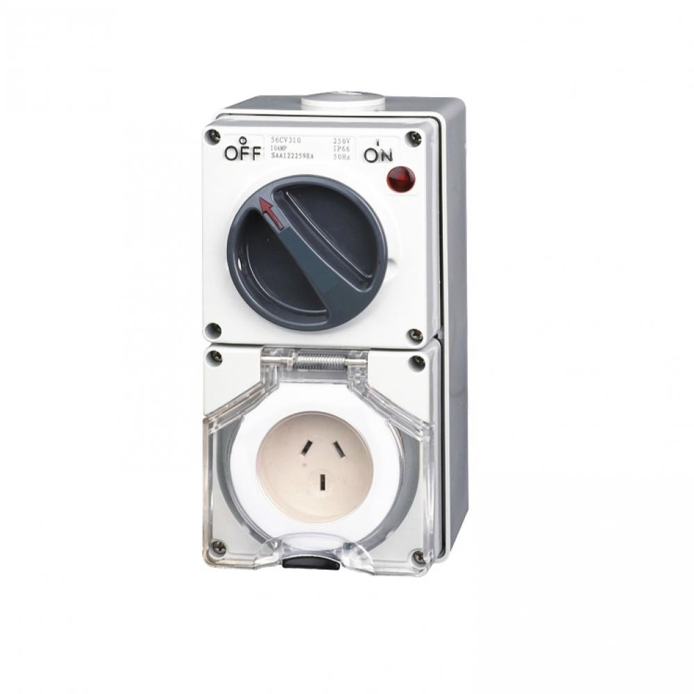 Industrial Switch Socket Outlet 10A