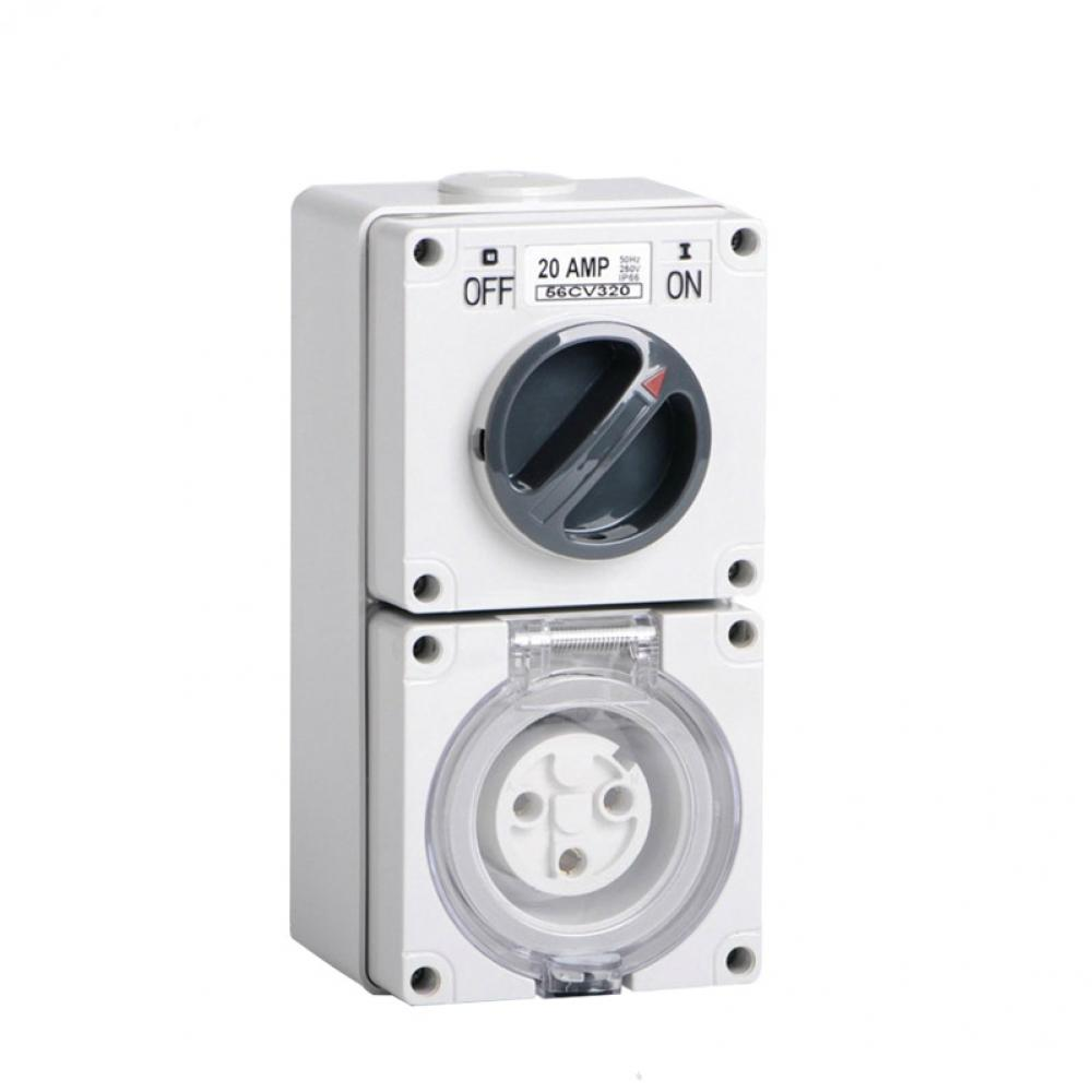 Industrial Switch Socket Outlet 3PIN 20A