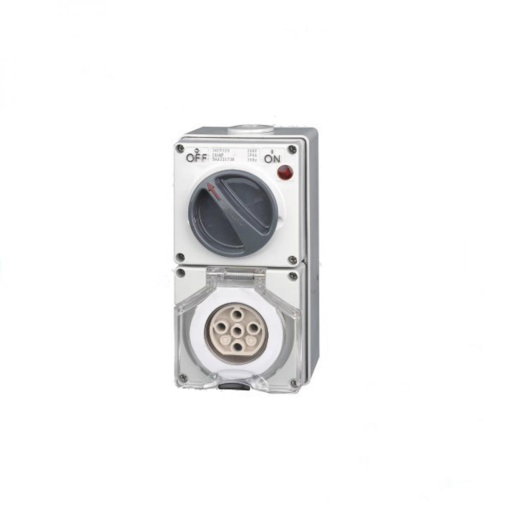 Industrial Switch Socket Outlet 5PIN 32A