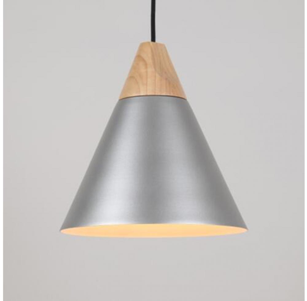 Pendant light- silver grey